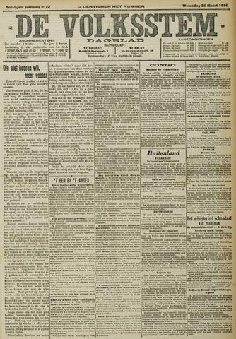 De Volksstem 1914-03-25
