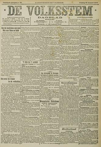 De Volksstem 1914-01-30