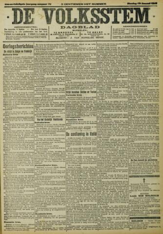 De Volksstem 1915-01-19