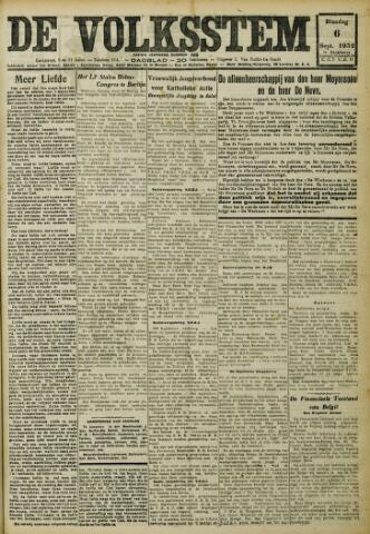 De Volksstem 1932-09-06