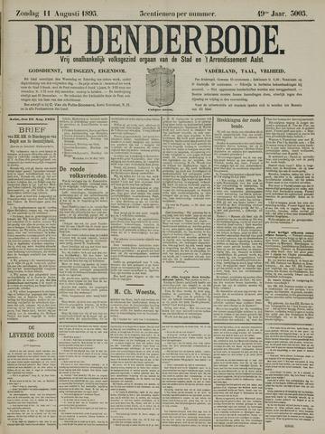 De Denderbode 1895-08-11