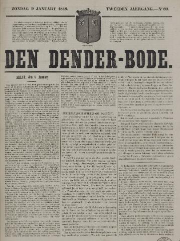 De Denderbode 1848-01-09