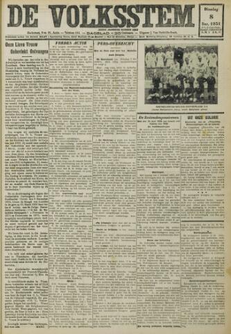 De Volksstem 1931-12-08