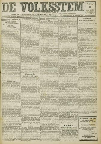 De Volksstem 1931-02-06