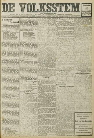 De Volksstem 1930-10-16