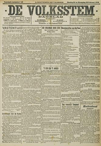 De Volksstem 1914-02-24