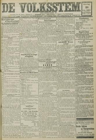 De Volksstem 1931-02-28