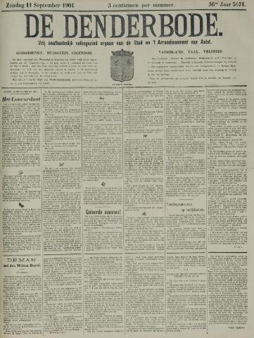 De Denderbode 1904-09-11
