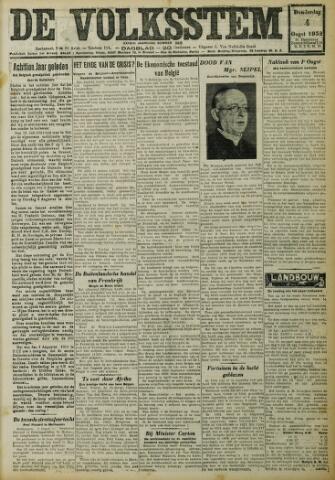 De Volksstem 1932-08-04