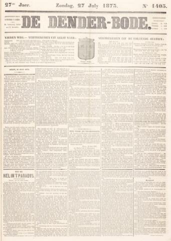 De Denderbode 1873-07-27