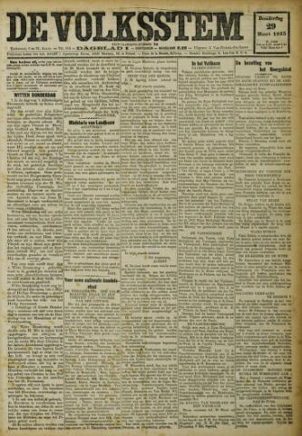 De Volksstem 1923-03-29