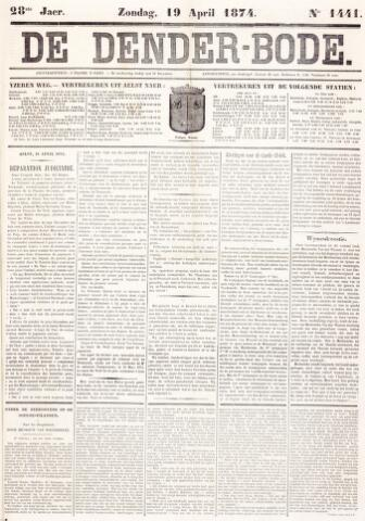 De Denderbode 1874-04-19