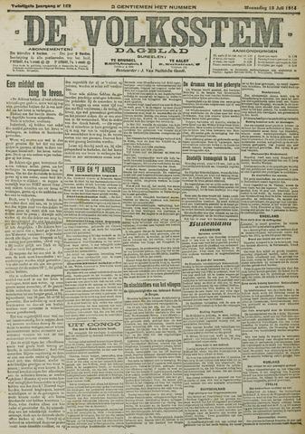De Volksstem 1914-07-15