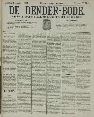 De Denderbode 1891-08-02