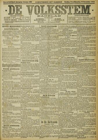 De Volksstem 1915-11-14