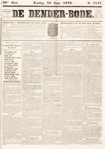 De Denderbode 1872-06-30