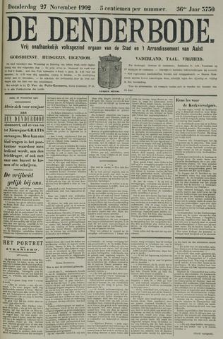De Denderbode 1902-11-27
