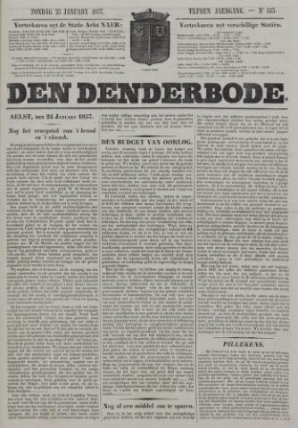 De Denderbode 1857-01-25