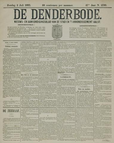 De Denderbode 1893-07-02