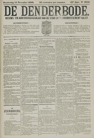 De Denderbode 1888-11-15