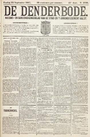 De Denderbode 1887-09-25