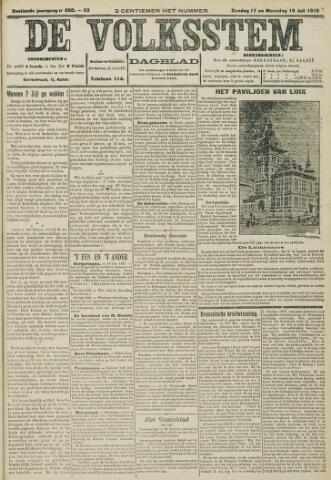 De Volksstem 1910-07-17