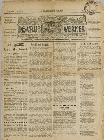 De Vrije werker 1913