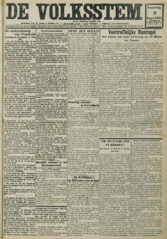De Volksstem 1931-08-06