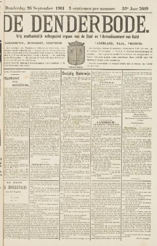 De Denderbode 1901-09-26