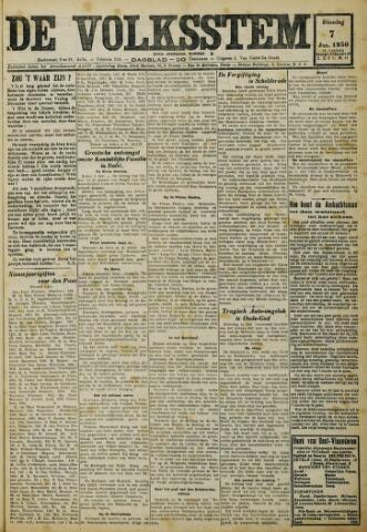 De Volksstem 1930-01-07