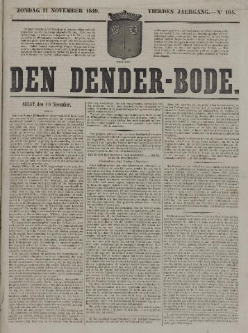 De Denderbode 1849-11-11