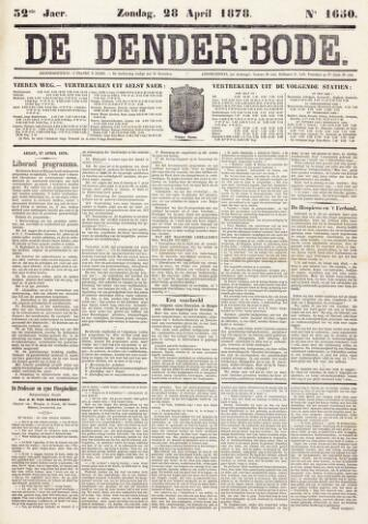 De Denderbode 1878-04-28