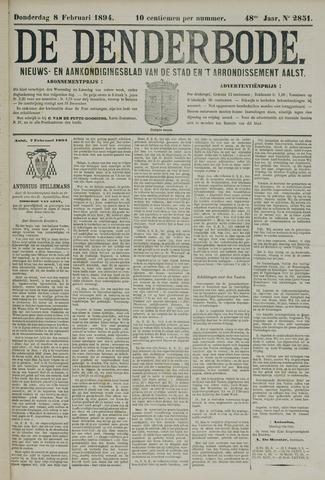 De Denderbode 1894-02-08