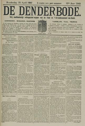 De Denderbode 1907-04-25
