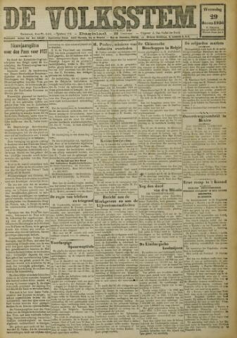 De Volksstem 1926-12-29
