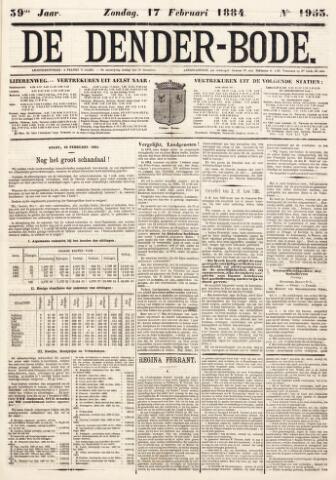 De Denderbode 1884-02-17