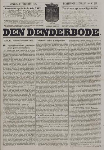 De Denderbode 1859-02-27