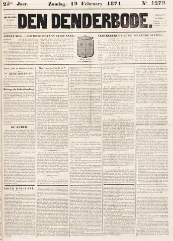 De Denderbode 1871-02-19
