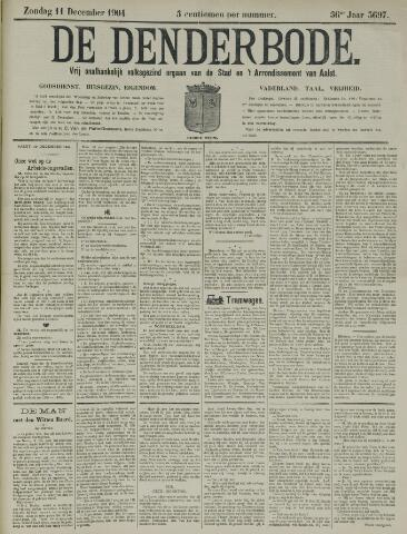 De Denderbode 1904-12-11