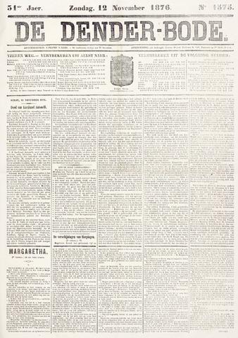 De Denderbode 1876-11-12