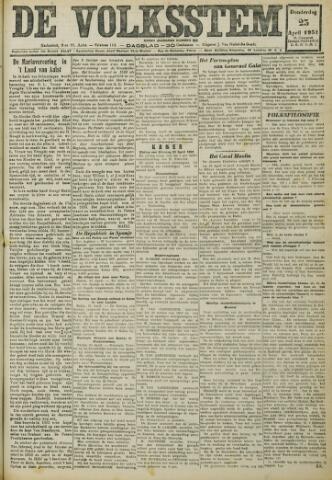 De Volksstem 1931-04-23