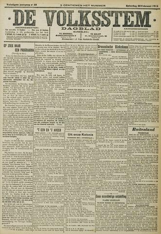 De Volksstem 1914-02-28