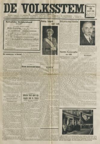De Volksstem 1938-03-10