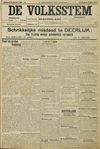 De Volksstem 1910-05-26