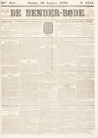 De Denderbode 1872-08-18