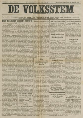 De Volksstem 1941-02-20