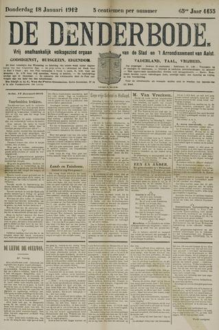 De Denderbode 1912-01-18