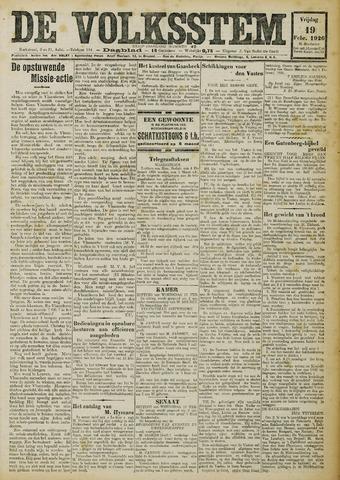 De Volksstem 1926-02-19