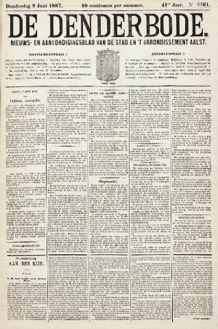 De Denderbode 1887-06-09