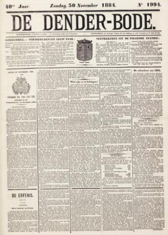 De Denderbode 1884-11-30